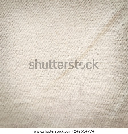 grunge background canvas texture - stock photo