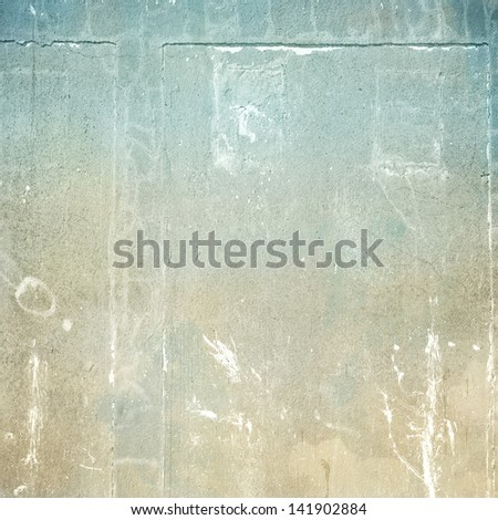 grunge background cracked wall texture - stock photo