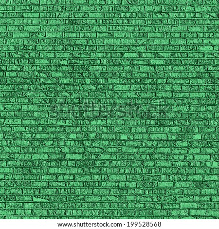 grunge background emerald green brick wall texture