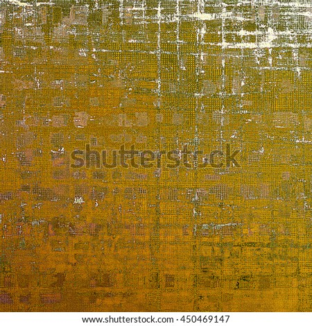 Grunge background for a creative vintage style poster. With different color patterns: yellow (beige); brown; green; gray; red (orange); white