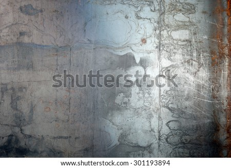 grunge background metal - stock photo