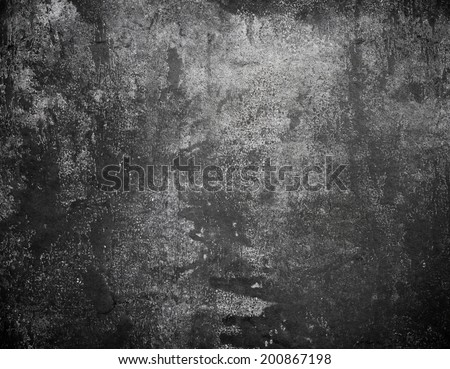 Grunge background. Old concrete wall - stock photo