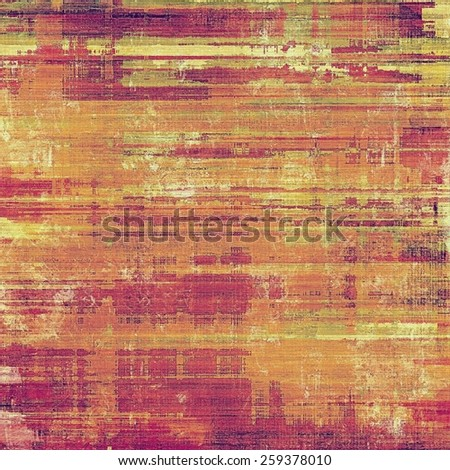 Grunge background or texture for your design. With different color patterns: yellow (beige); brown; red (orange); pink - stock photo
