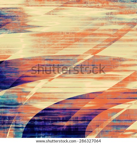 Grunge background or texture for your design. With different color patterns: yellow (beige); brown; gray; blue - stock photo