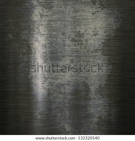 Grunge background or texture of brushed steel plate - stock photo