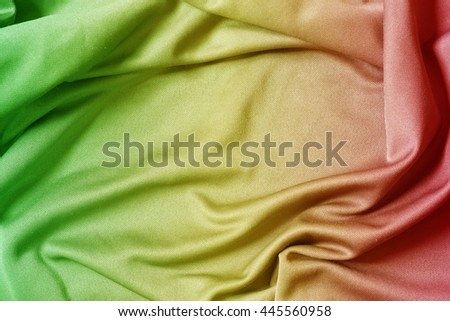 grunge background reggae colors green, yellow, red - stock photo