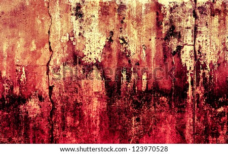 Grunge Background Surface Two Tone Color - stock photo