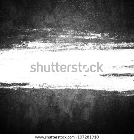 grunge background with brush space - stock photo