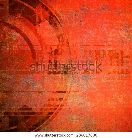 Grunge background with circle - stock photo