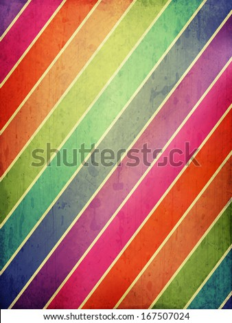 grunge background with colored stripes - stock photo