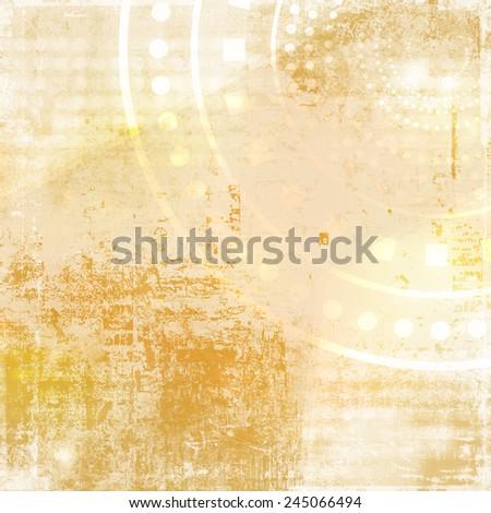 Grunge background with geometric pattern - stock photo