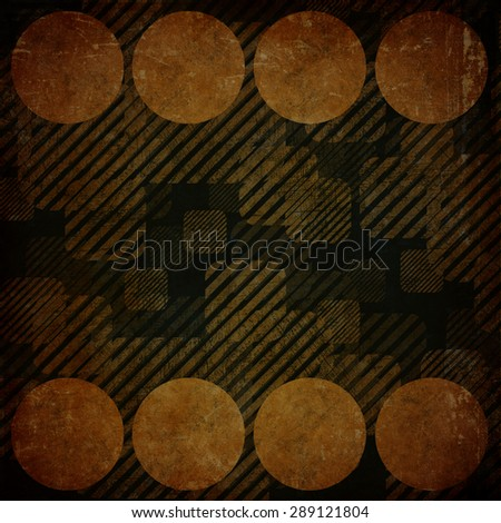 Grunge background with geometric pattern