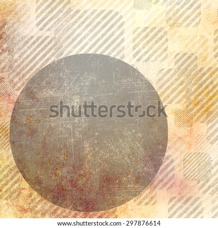 Grunge background with grey circle