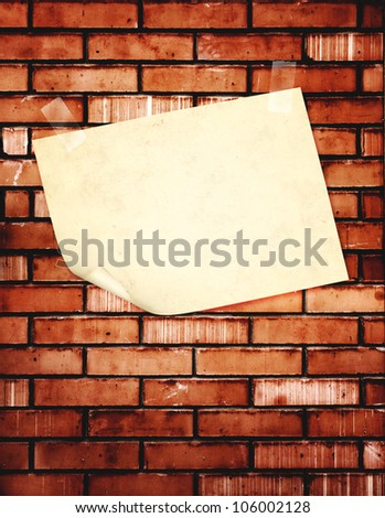 Grunge background with old paper