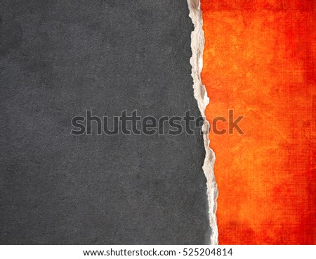 Grunge background with paper texture of red and grey colors