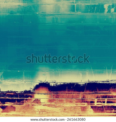 Grunge background with space for text or image. With different color patterns: yellow (beige); purple (violet); blue; cyan - stock photo