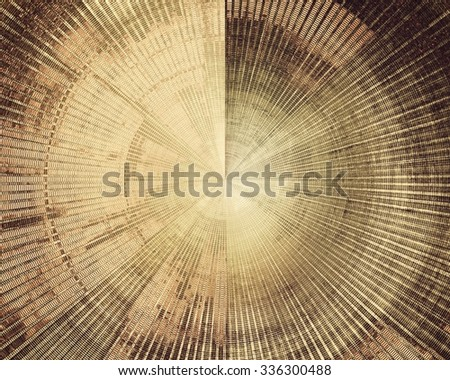 Grunge background with space for text or image. With different color patterns: yellow (beige); brown; gray; black - stock photo