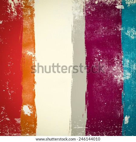 Grunge background with stripes - stock photo