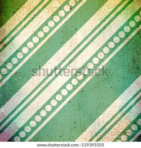 Grunge background with stripes and circles