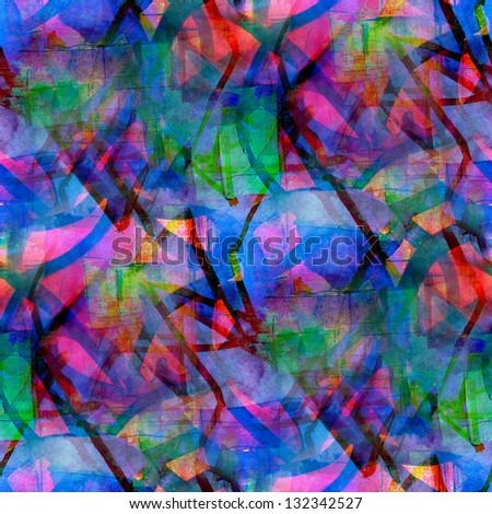 grunge band texture, watercolor blue red seamless, band background drawn background, business background, abstract retro background