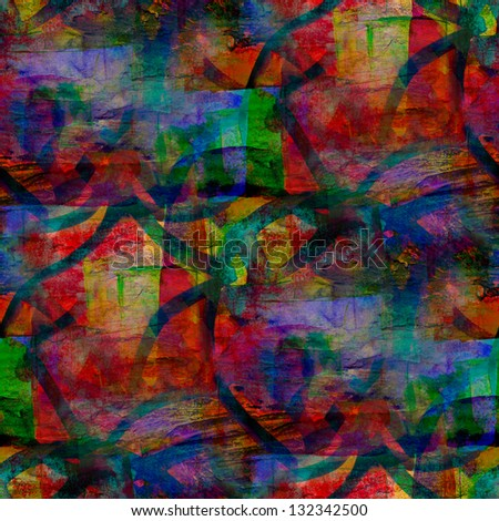 grunge band texture, watercolor red blue green seamless, band background drawn background, business background, abstract retro background