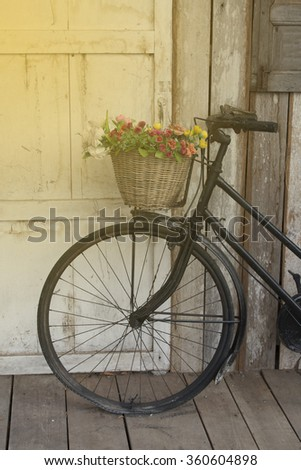 grunge bicycle