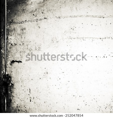 Grunge black and white background with space for text and  image for your design. Abstract Textured backdrop for wallpaper, ad, poster.  - stock photo