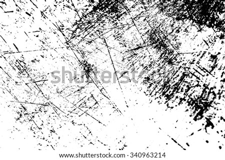 Grunge Black and White Distress Texture . Scratch Texture . Dirty Texture .Background . - stock photo