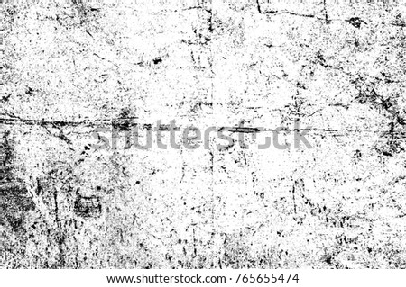 Grunge black and white pattern  Monochrome particles abstract texture   Background of cracks  scuffs. Distressed Overlay Texture Cracked Concrete Stone Stock Vector