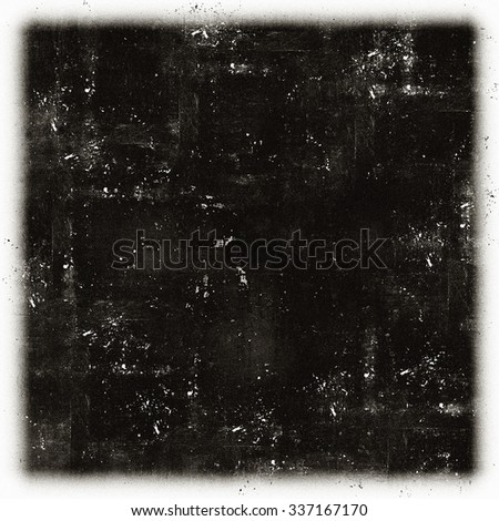 Grunge black and white scratch distress texture