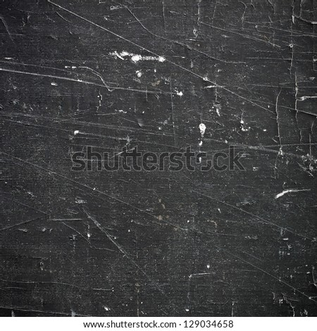 grunge black surface of wood - stock photo