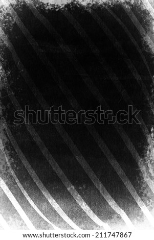 Grunge black texture like negative film