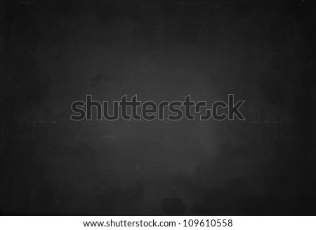 Grunge Blackboard background - stock photo