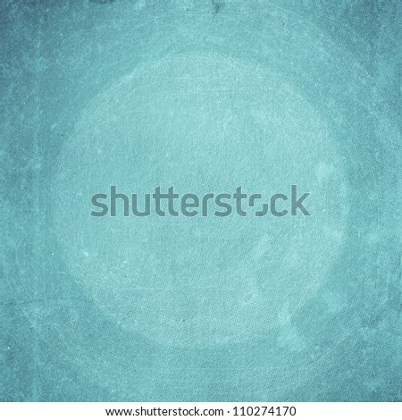 grunge blue paper texture, distressed background - stock photo