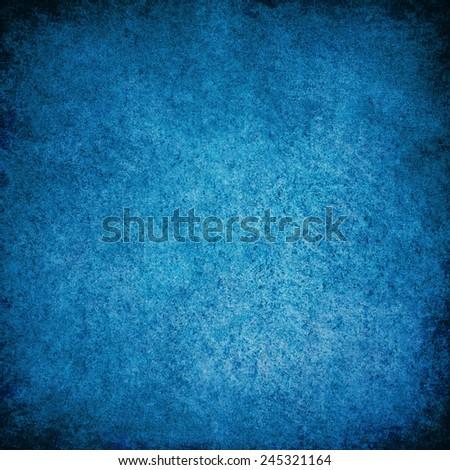 Grunge blue texture, background. - stock photo