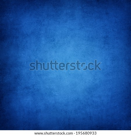 Grunge blue texture, background with space for text.