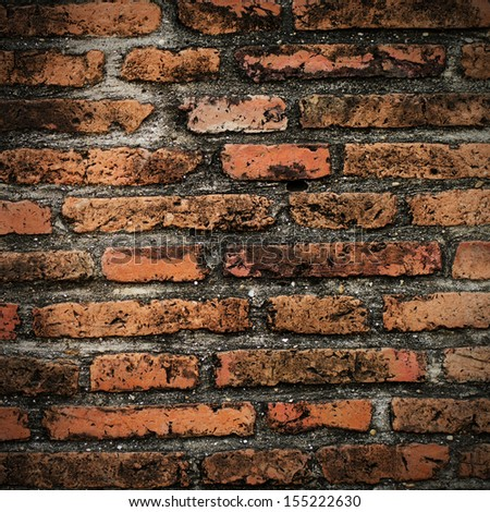 Grunge brick wall texture background