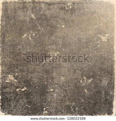 Grunge brown background - stock photo