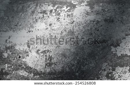 Grunge brushed metal texture ; abstract industrial background  - stock photo