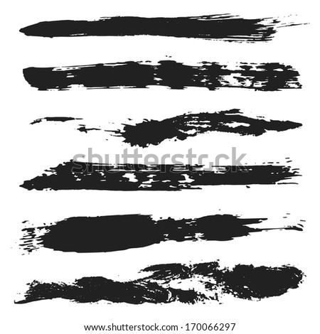 Grunge Brushes Set 4