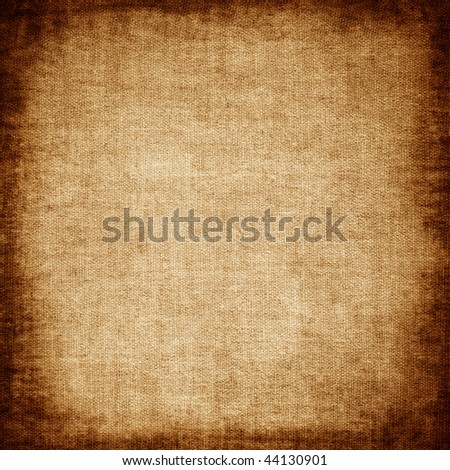 Grunge canvas - stock photo