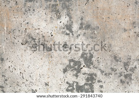 Grunge cement wall, old grungy stucco texture as background - stock photo