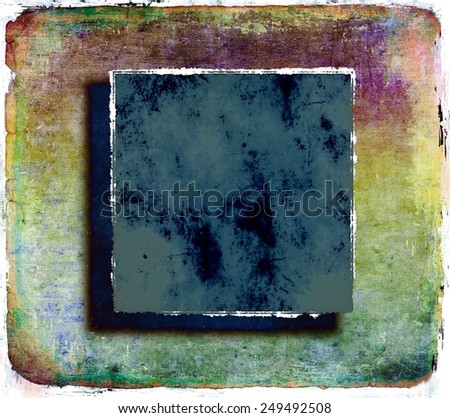 Grunge colorful abstract background - stock photo