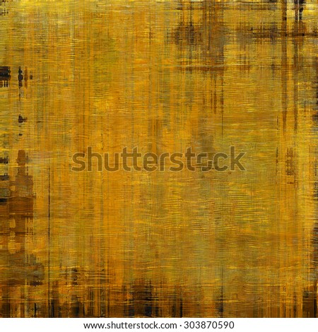 Grunge colorful background or old texture for creative design work. With different color patterns: yellow (beige); brown; gray - stock photo