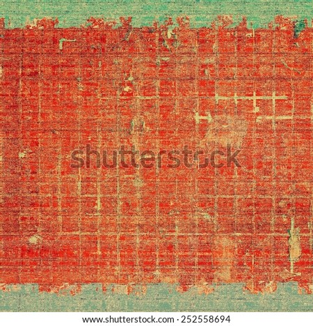 Grunge colorful background. With different color patterns: yellow (beige); green; red (orange) - stock photo