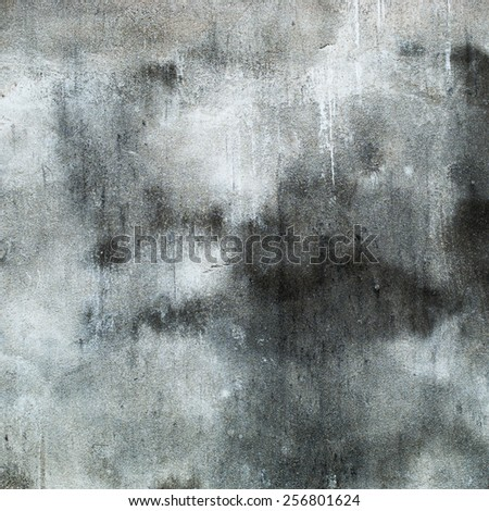 Grunge Concrete Scratched Wall - stock photo