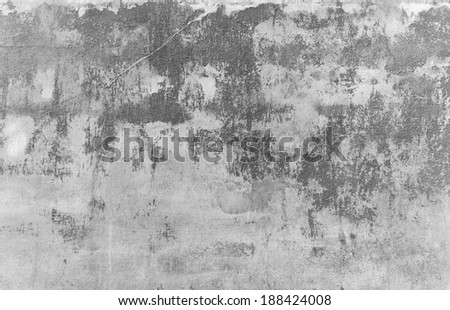 grunge concrete wall - stock photo