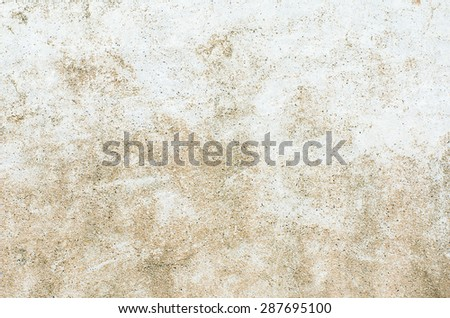 Grunge Concrete wall textured or background, Concrete dirty with moldy. - stock photo