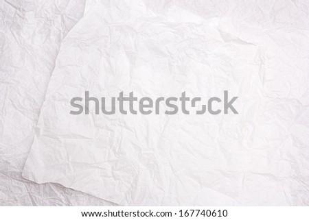 Grunge crumpled paper texture - stock photo