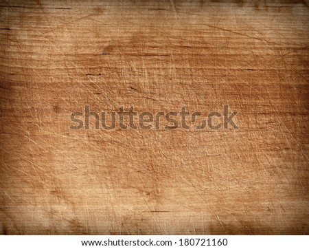 Grunge cutting board. Wood texture. - stock photo